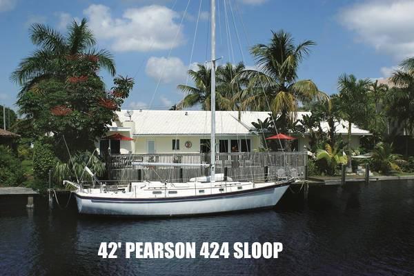 Pearson 424 Sloop Pearson-424-Sloop