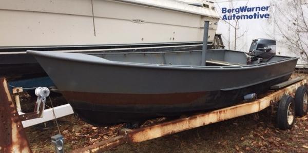 Commercial Steel Work Boat
