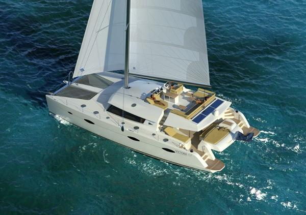 Fountaine Pajot Victoria 67 Sailing