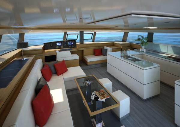 Fountaine Pajot Victoria 67 Interior