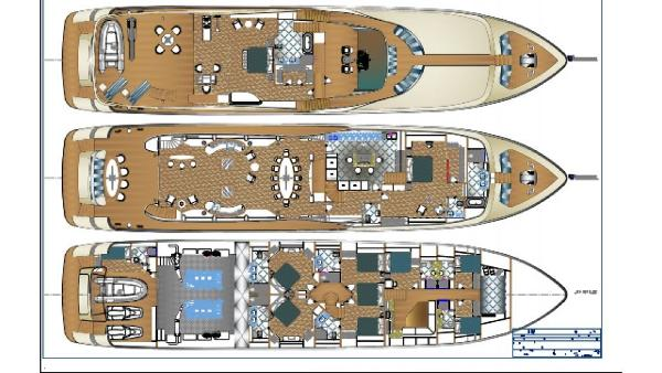 40 m New Project Motor Yacht 2017