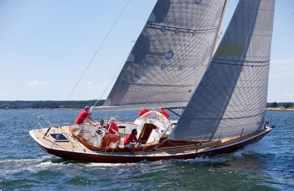 Custom French & Webb 45 Daysailer ERICA