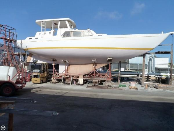 Columbia Custom Offshore Motorsailer