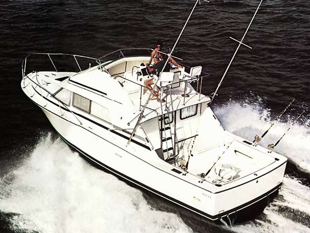 Bertram 33 Sport Fisherman Manufacturer Provided Image