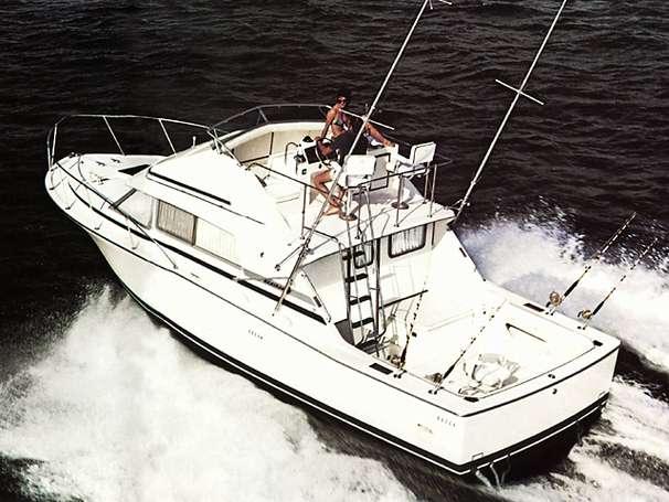 Bertram 33 Sport Fisherman Manufacturer Provided Image