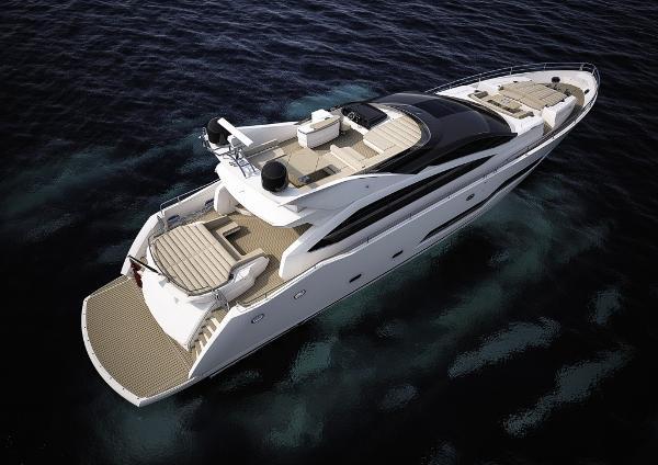 Sunseeker 101 Sport Yacht Stern