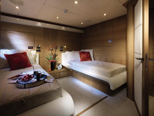 Sunseeker 130 Sport Yacht Twin Cabin