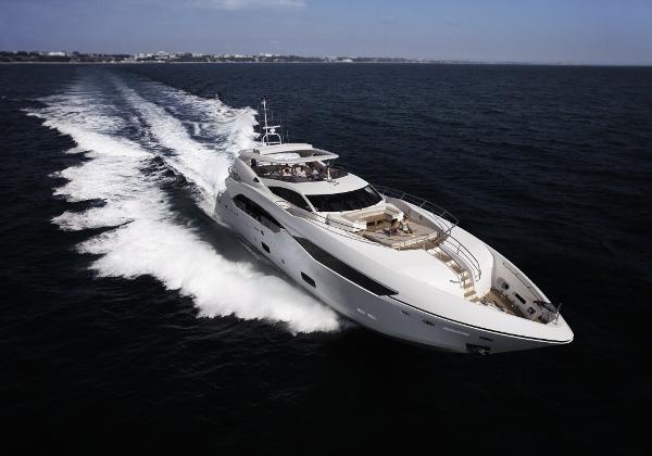 Sunseeker 115 Sport Yacht Manufacturer Provided Image: Sunseeker 115 Sport Yacht
