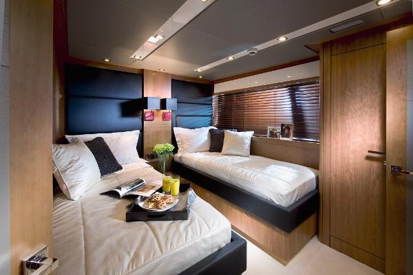 Sunseeker 115 Sport Yacht Twin Cabin