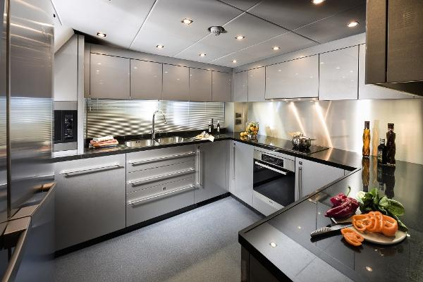 Sunseeker 115 Sport Yacht Galley