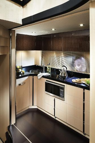 Sunseeker 68 Sport Yacht Galley