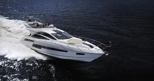 Sunseeker 68 Sport Yacht Manufacturer Provided Image: Sunseeker 68 Sport Yacht