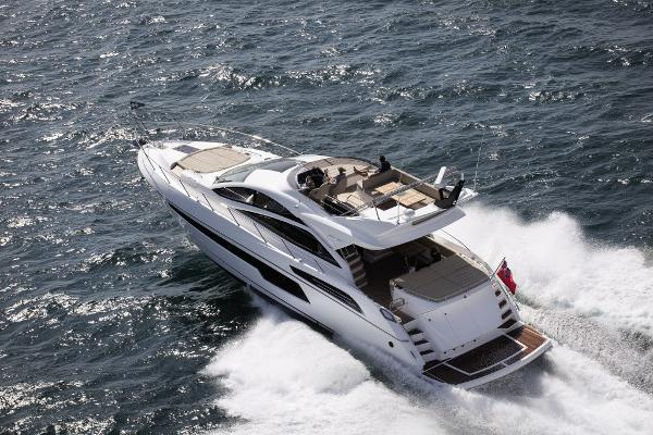 Sunseeker 68 Sport Yacht Manufacturer Provided Image: Sunseeker 68 Sport Yacht Stern