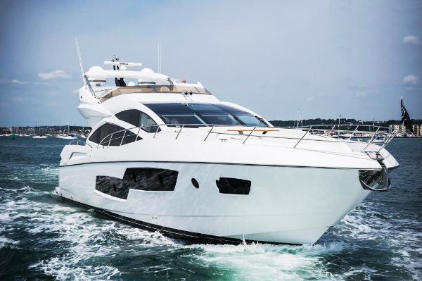 Sunseeker 80 Sport Yacht Manufacturer Provided Image: Sunseeker 80 Sport Yacht