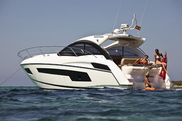 Sunseeker Portofino 40 Stern