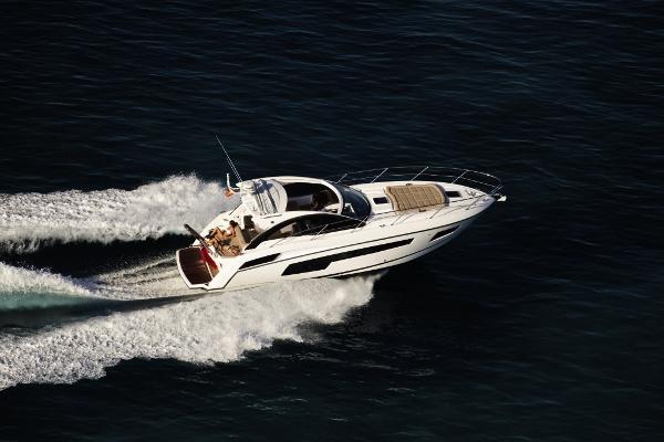 Sunseeker Portofino 40 Aerial View
