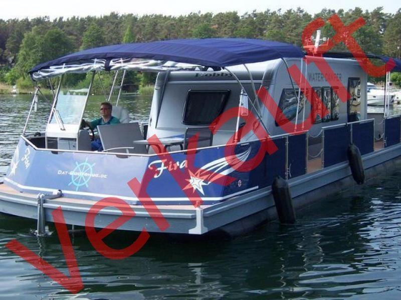 HAUSBOOT BUNBO WOHNBOOT WATER CAMPER 1200