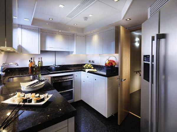 Sunseeker 88 Yacht Galley