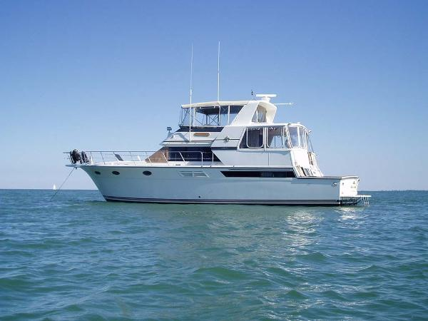 Californian Cockpit Motor Yacht Profile