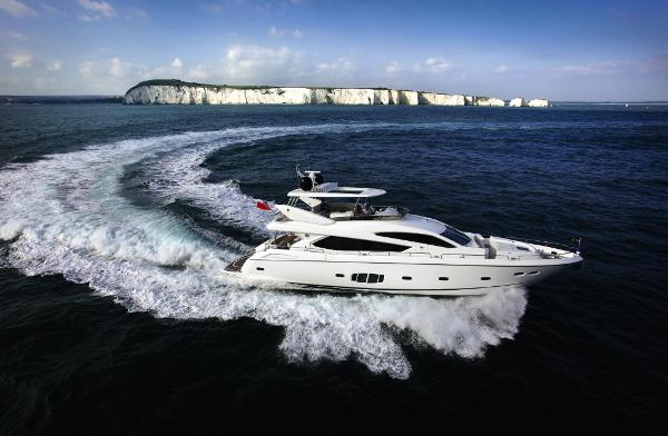 Sunseeker 80 Yacht Side Profile