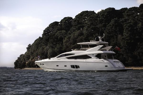 Sunseeker 80 Yacht Side View