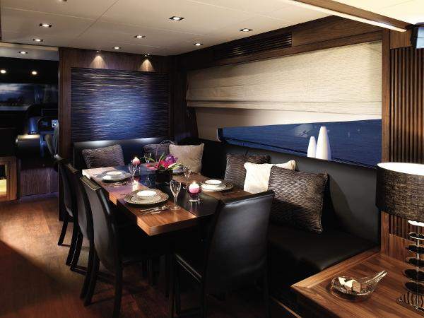 Sunseeker 80 Yacht Dining