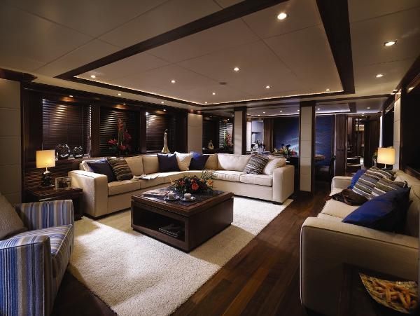 Sunseeker 34M Yacht Saloon