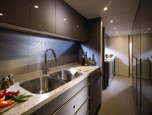 Sunseeker 34M Yacht Galley