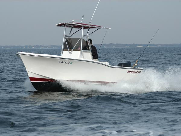 North Coast CENTER CONSOLE & TRAILER