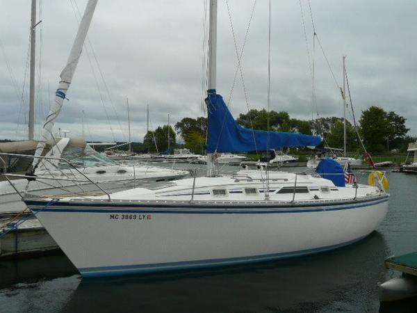 Hunter 31 Port profile