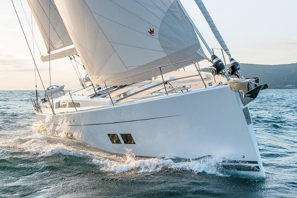Hanse 588 Manufacturer Provided Image