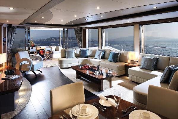 Sunseeker 28 M Yacht Saloon