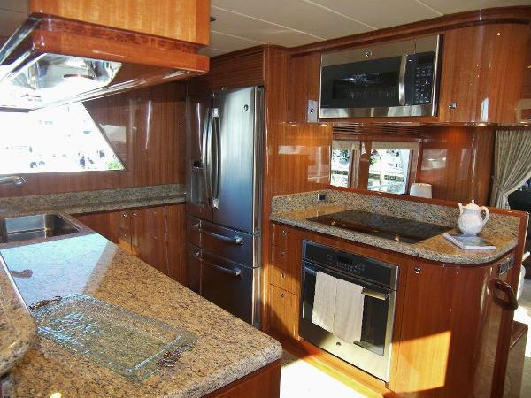 Galley View Aft