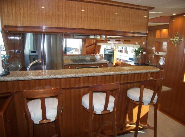 Galley Seating Facing Aft
