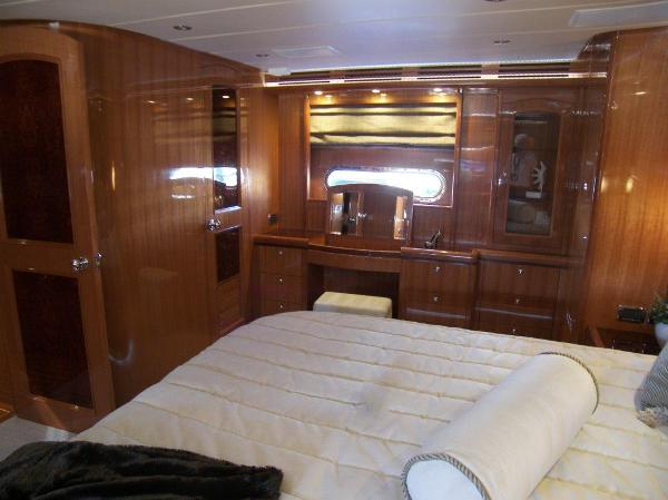 Master Stateroom View Stbd