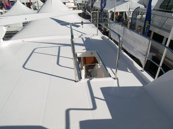 Boat Deck View Aft