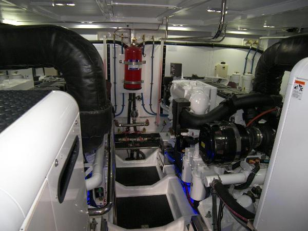 Engine Room View Forward