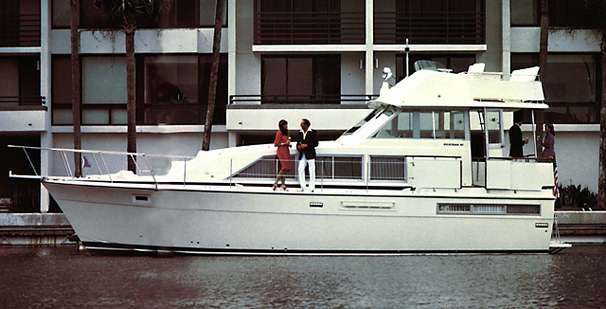 Bertram 42 Flybridge Motor Yacht Manufacturer Provided Image