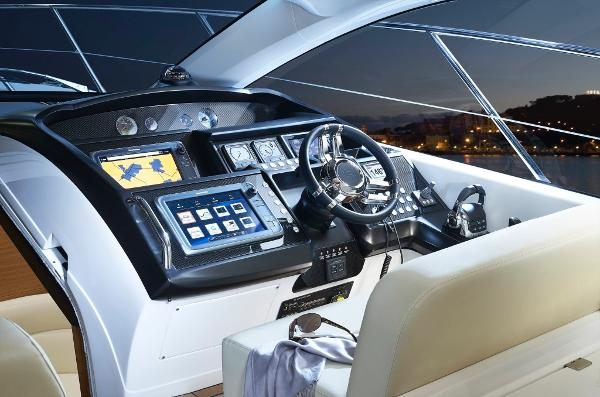 Manufacturer Provided Image: Sunseeker San Remo Helm