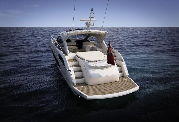 Manufacturer Provided Image: Sunseeker San Remo Stern