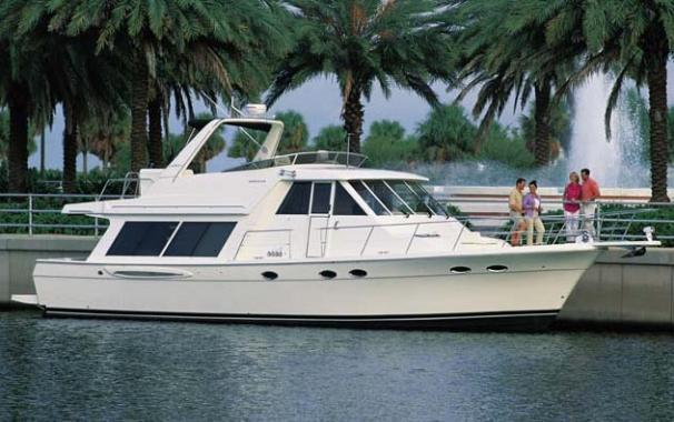 Meridian 490 Pilothouse Manufacturer Provided Image