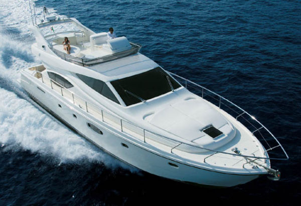 Ferretti Yachts 550 Flybridge Photo 1