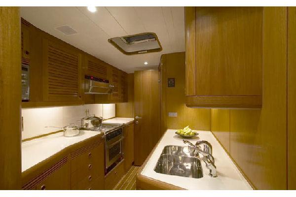 Nautor Swan 75 FD Galley