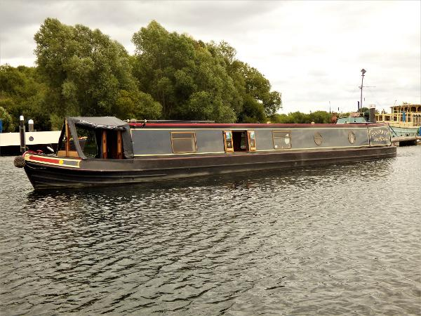 Kingsground Narrowboat Trad Stern 57'06""
