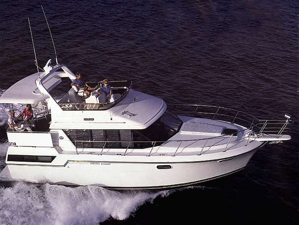 Carver 38 Aft Cabin Manufacturer Provided Image