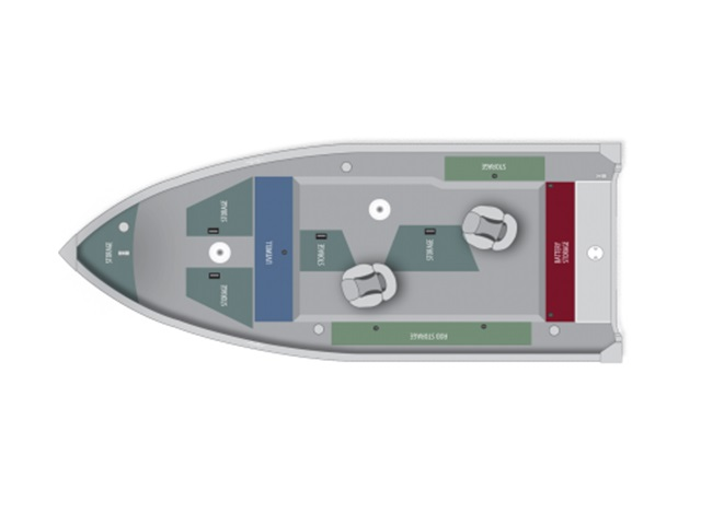 Alumacraft Escape Series 165 tiller