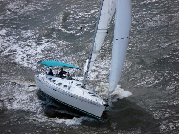 Beneteau First 42s7 Under Sail