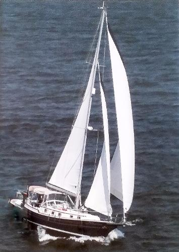 Gozzard 37 Under Sail