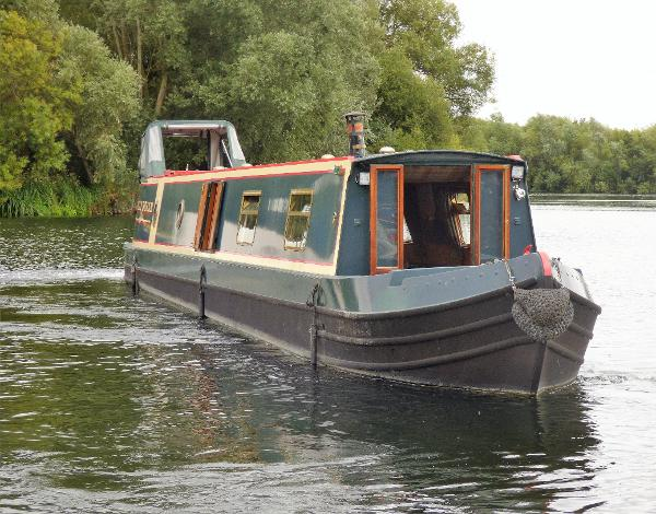Narrowboat Jonathan Wilson-Mike Christian