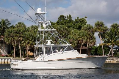 Release Boatworks Walk Around Custom Carolina